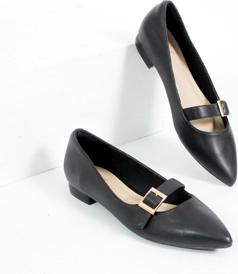 Giày Búp Bê Bệt Quai Ngang Mũi Nhọn Pixie X458