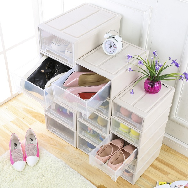 Hộp đựng đồ ngăn kéo xếp tầng cao cấp size L (cỡ lớn)
