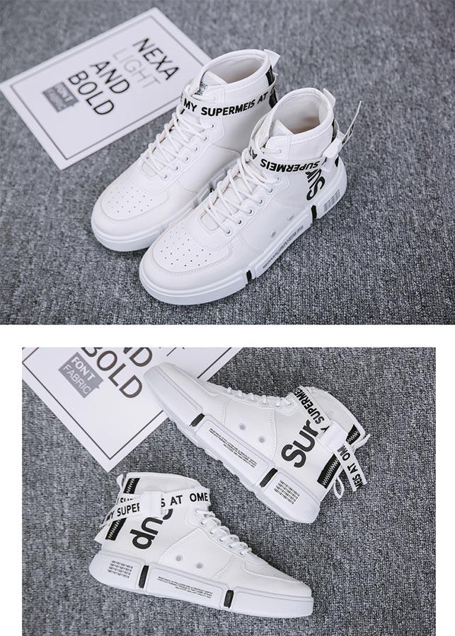 Giày nam thể thao cao cổ thời trang cá tính PETTINO - TC01