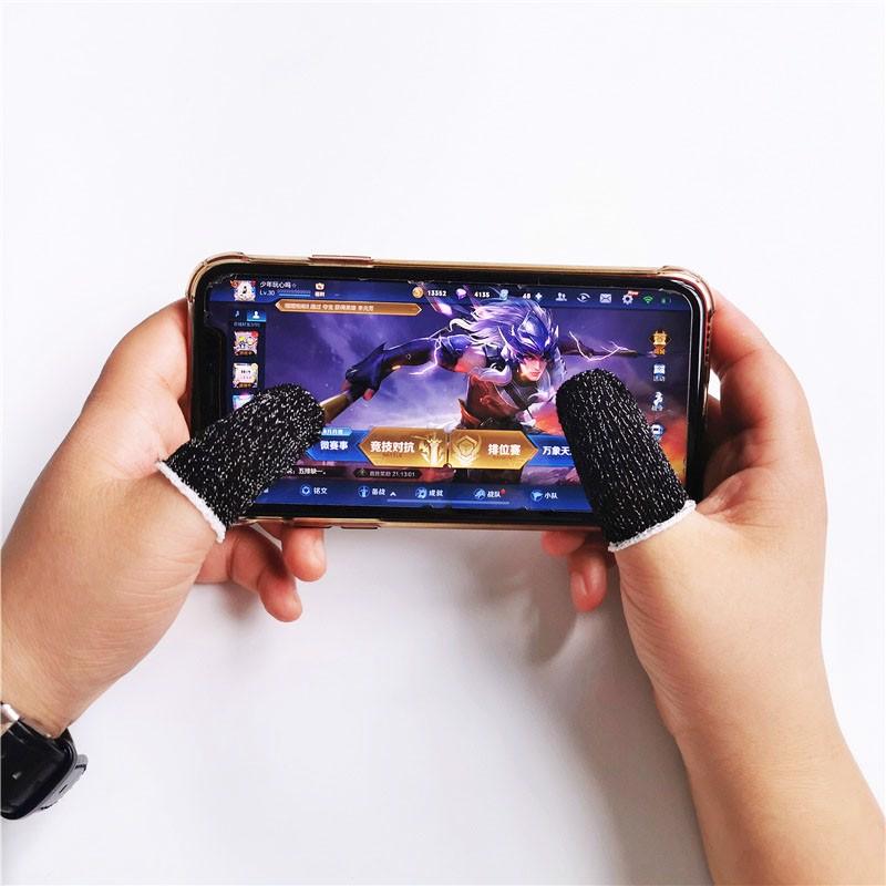 Găng tay chơi game chống mồ hôi hỗ trợ chơi game PUBG, Liên quân, Rules Of Survival Aturos M12 - Hàng chính hãng