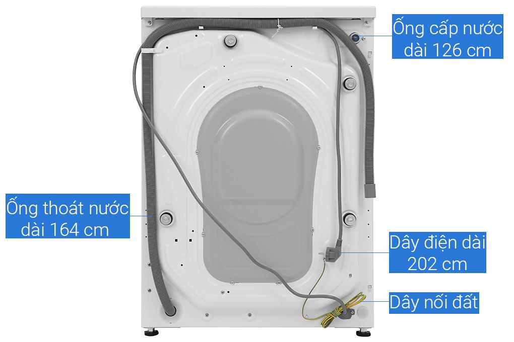 Máy giặt Aqua cửa ngang AQD-D900F.W 9kg - Hàng chính hãng - chỉ giao tại Hà Nội
