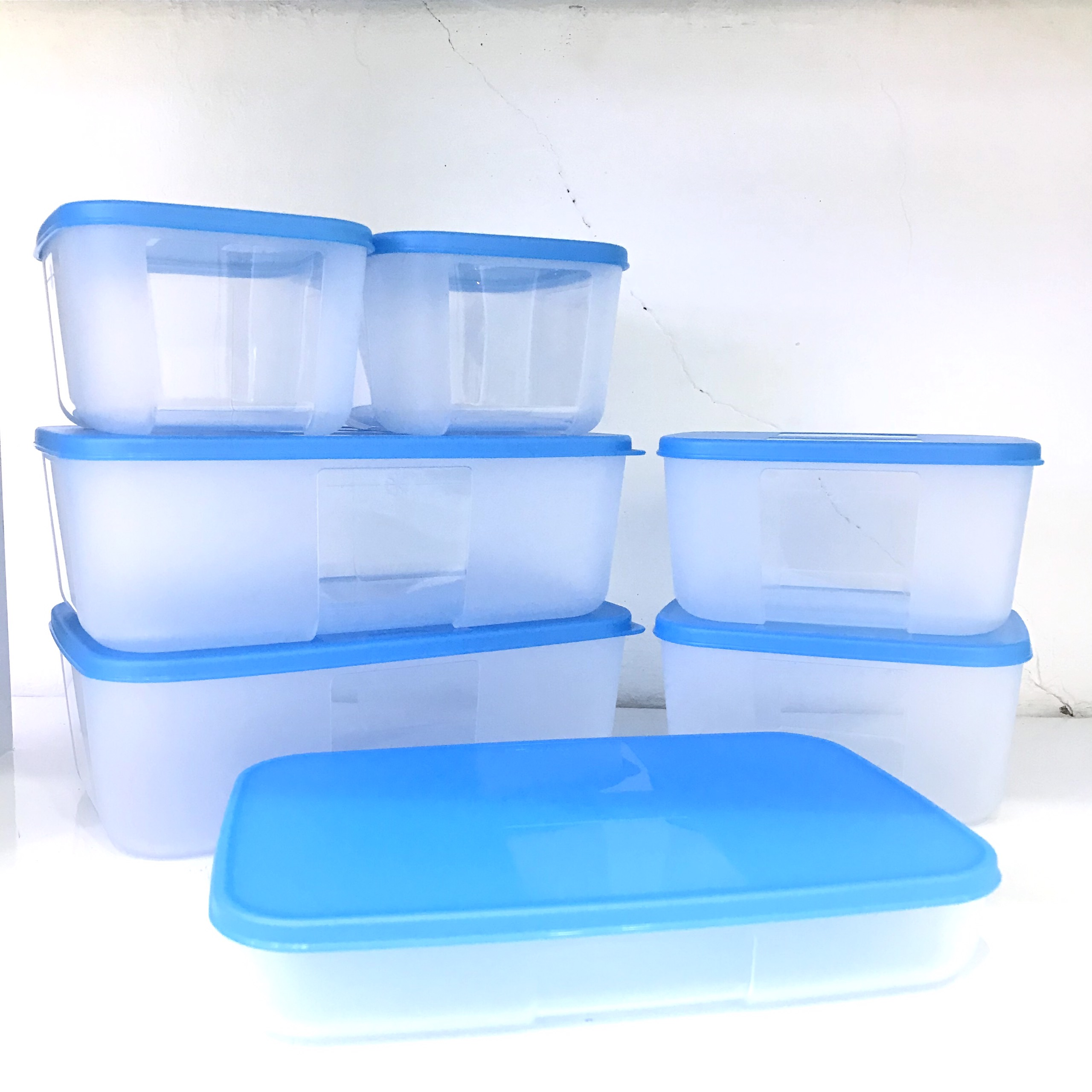 Bộ 7 hộp trữ đông Tupperware Freezermate Fit