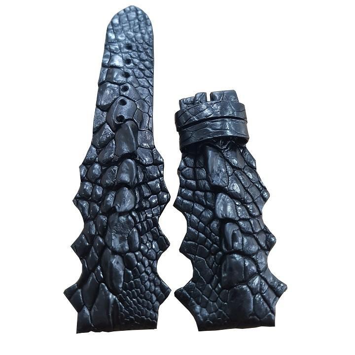 Dây đồng hồ gai chân cá sấu