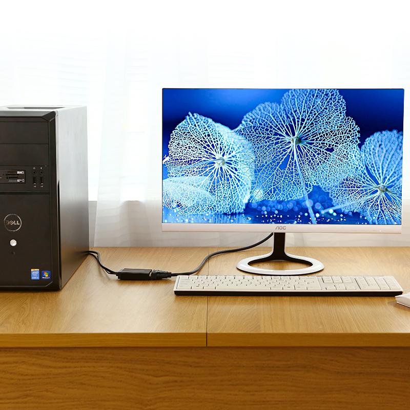 Bộ chuyển đổi VGA đực sang DVI-D (24+1) cái UGREEN MM119 30839  - Hàng Chính Hãng