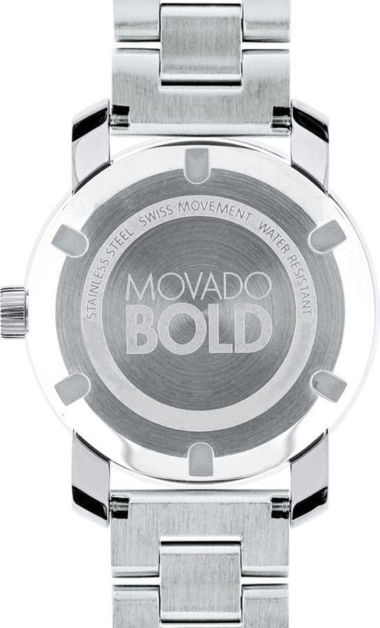 Đồng Hồ Nữ Dây Kim Loại Movado 3600084 (36mm) - Trắng
