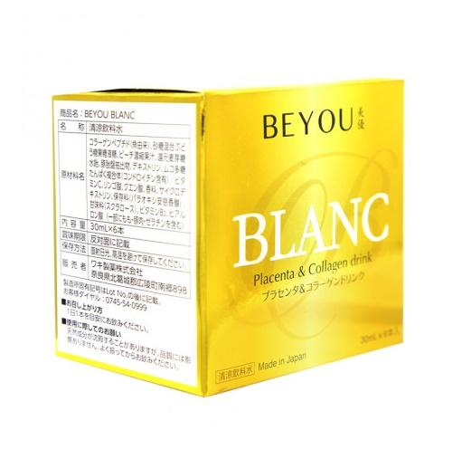 Thực phẩm bảo vệ sức khỏe BEYOU BLANC - Chống lão hóa, giúp da căng mịn, rạng ngời hộp 6 lọ