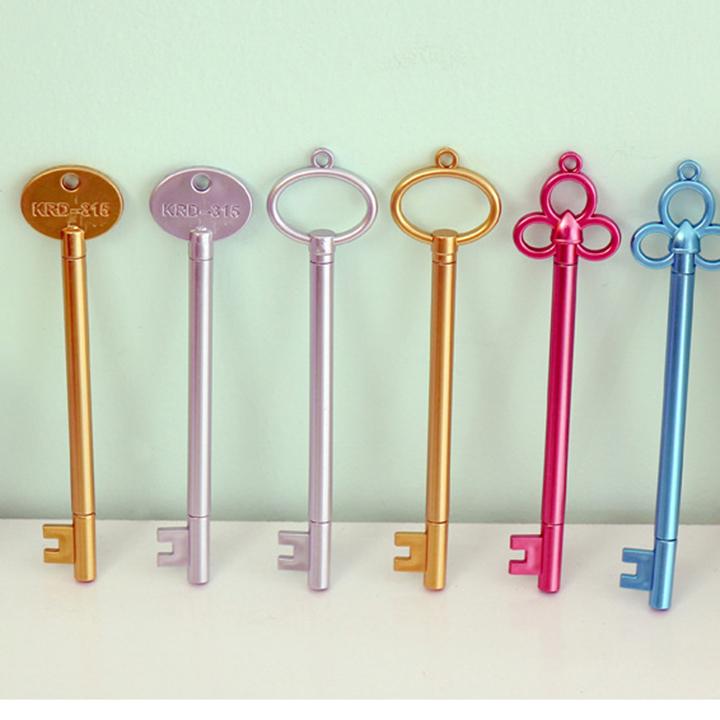 Combo 3 Bút gel nước dễ thương hình chìa khóa