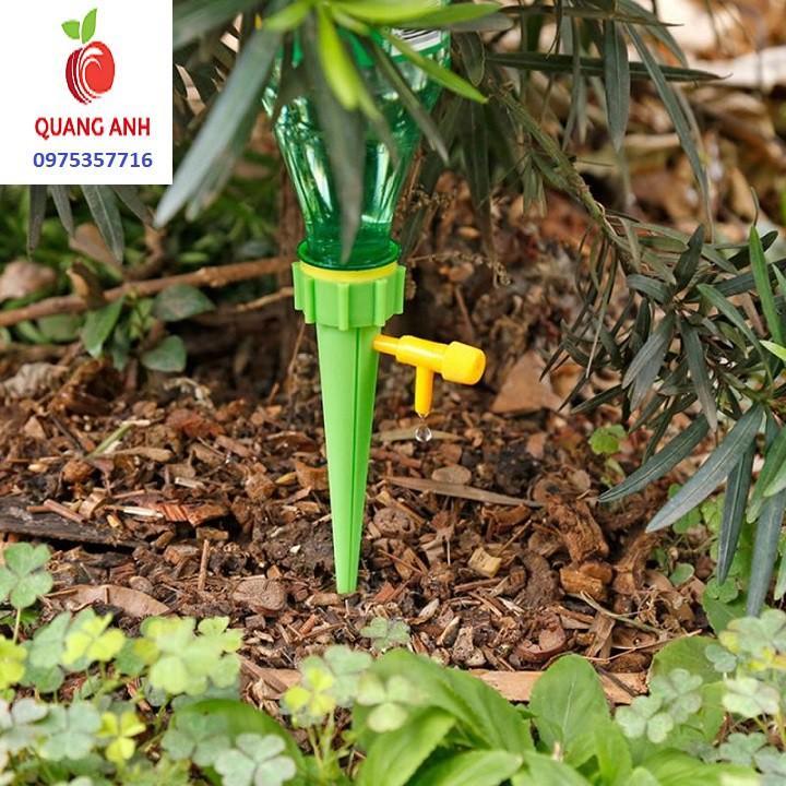 Vòi tưới cây nhỏ giọt tự động gắn chai nhựa tiện dụng - Đầu vòi tưới cây nhỏ giọt - 2 Màu - SET 1 CÁI