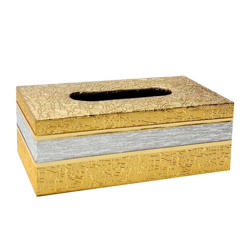 Hộp đựng giấy ăn, khăn giấy chữ nhật cỡ lớn (Màu ngẫu nhiên)