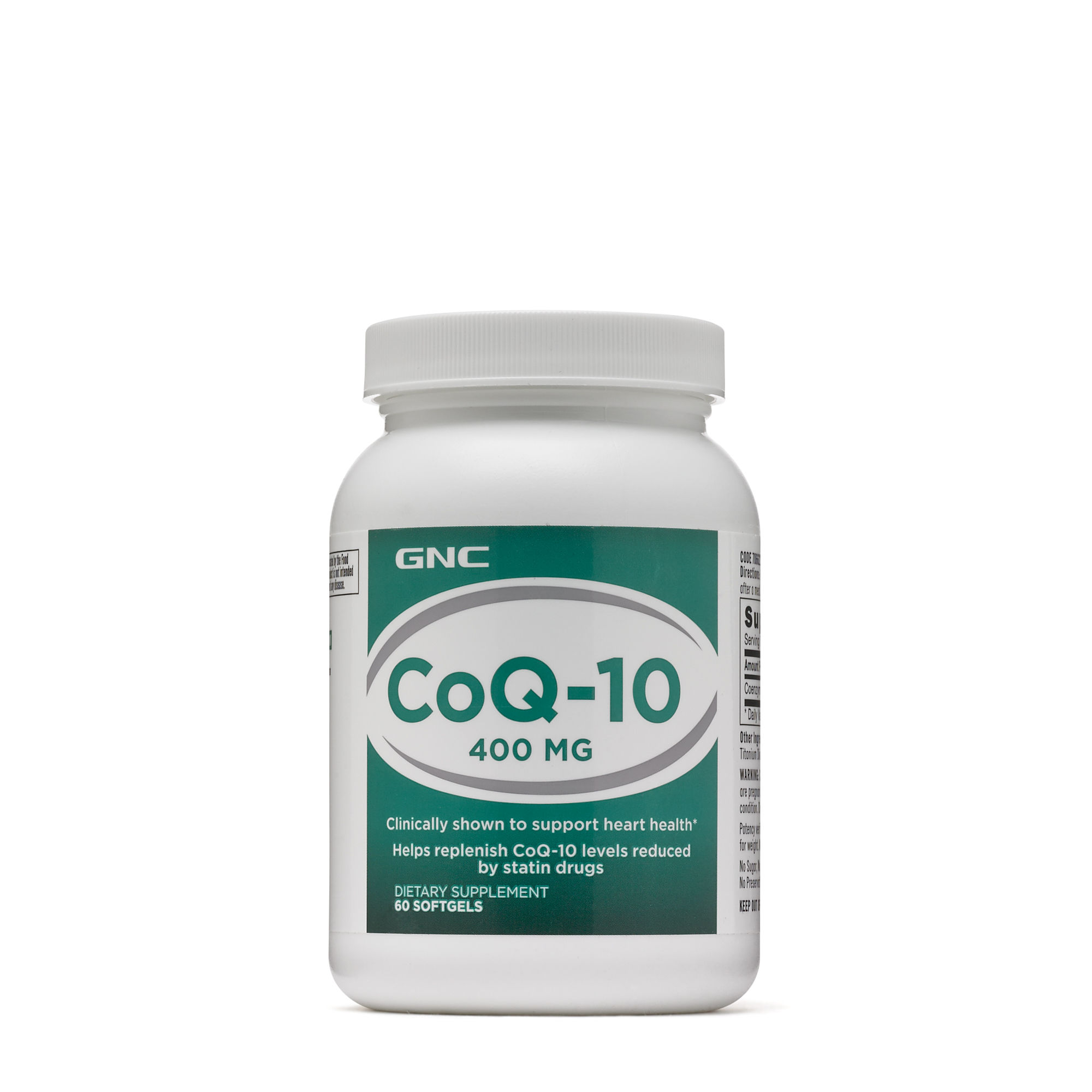 Thực Phẩm Chức Năng Hỗ trợ tim mạch GNC CoQ-10  400 mg chai 60 viên