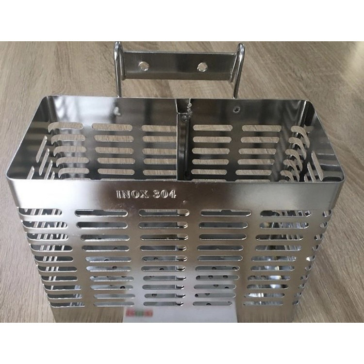 Ống đũa hai ngăn inox 304 loại đẹp làm thủ công rất sắc sảo, hàng chính hãng.