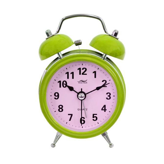 Đồng hồ báo thức để bàn Mini Alarm Tienich168 TI181 (Xanh)
