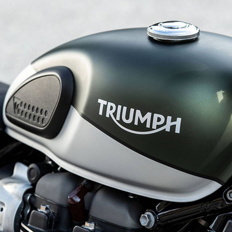 Xe Môtô Triumph Street Scrambler 900 - Xanh Xám