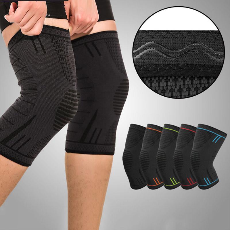 Băng bảo vệ đầu gối Rhino P7720 (1 Đôi) Bó gối thể thao Đai bảo vệ đầu gối khớp gối Băng quấn đầu gối khớp gối hàng chính hãng dành cho cả nam và nữ