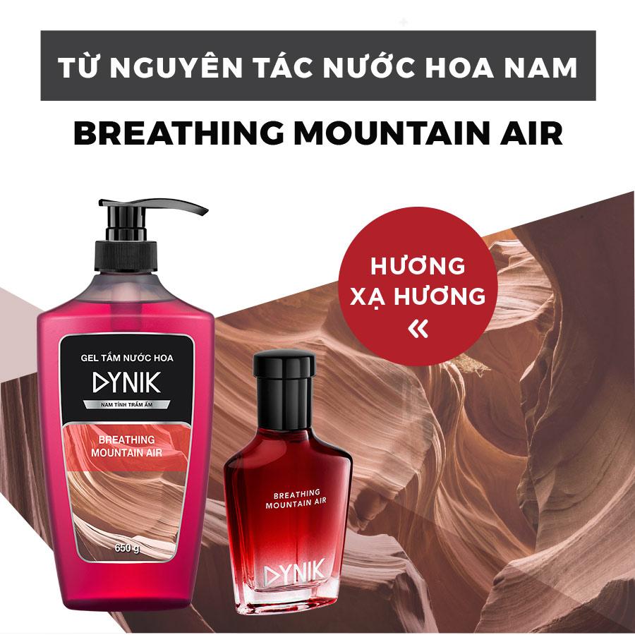 Gel tắm nam DYNIK Xạ Hương Trầm Ấm 650g