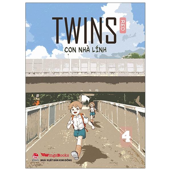 Twins - Con Nhà Lính - Tập 4 - Tặng Kèm Postcard