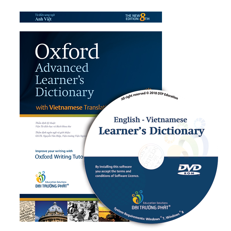 Oxford Advanced Learner's Dictionary 8th Edition (With Vietnamese Translation) and CD - ROM (Hardback)