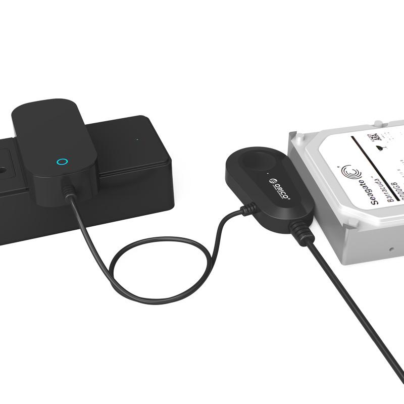 Đầu đọc dữ liệu ổ cứng: 3.5 và 2.5 SATA 3 USB 3.0 ORICO - 35UTS  - Hàng Chính Hãng