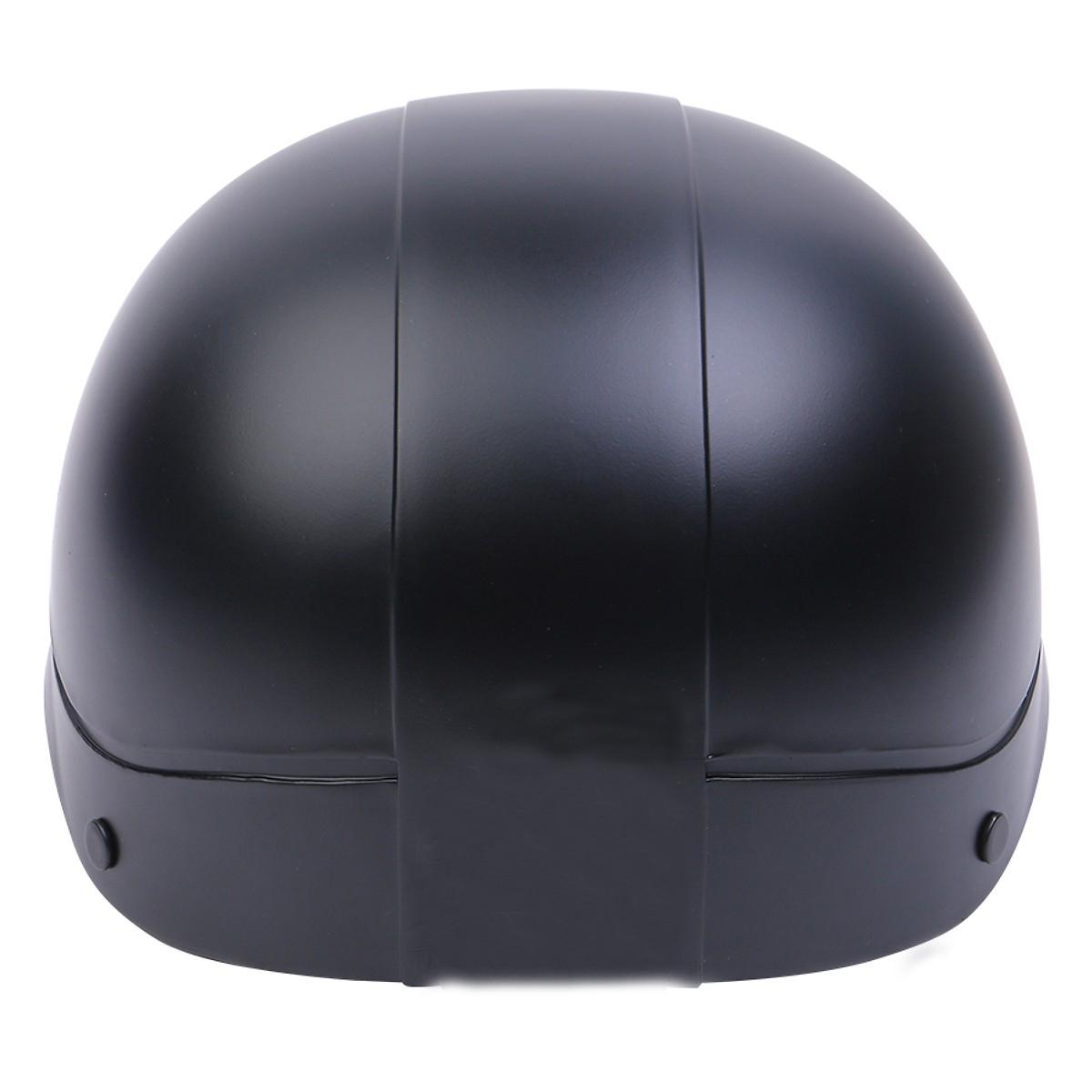Mũ Bảo Hiểm 1/2 Đầu Thời Trang NS-N088-BLACK - Đen