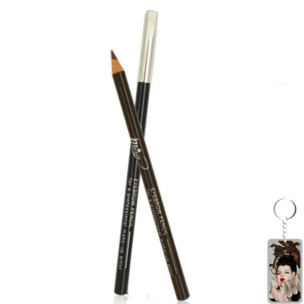 Chì vẽ mày Mira Eyebrow Pencil Hàn Quốc tặng kèm móc khoá