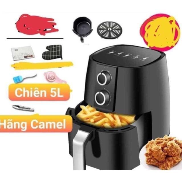 NỒI CHIÊN KHÔNG DẦU CAMEL 5L - Hãng nổi tiếng nội địa Trung