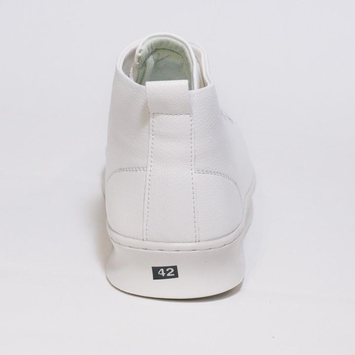Giày Thể Thao Nam Cổ Lửng Màu Trắng Đế Khâu Chắc Chắn Rất Năng Động - T447-TRANG(TL)-TRANG