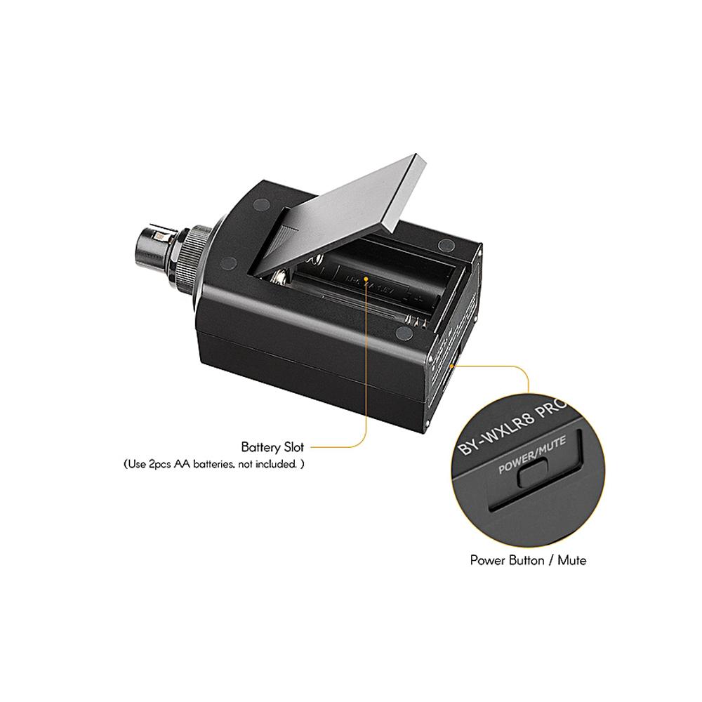 Phụ Kiện Âm Thanh Chuyên Nghiệp BOYA Wireless Microphone System BY-WXLR8 PRO - Hàng Chính Hãng
