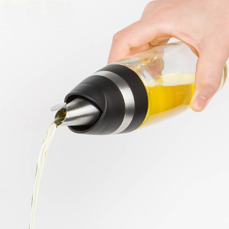 Bộ bình đựng dầu ăn và gia vị bằng thủy tinh cao cấp - 205