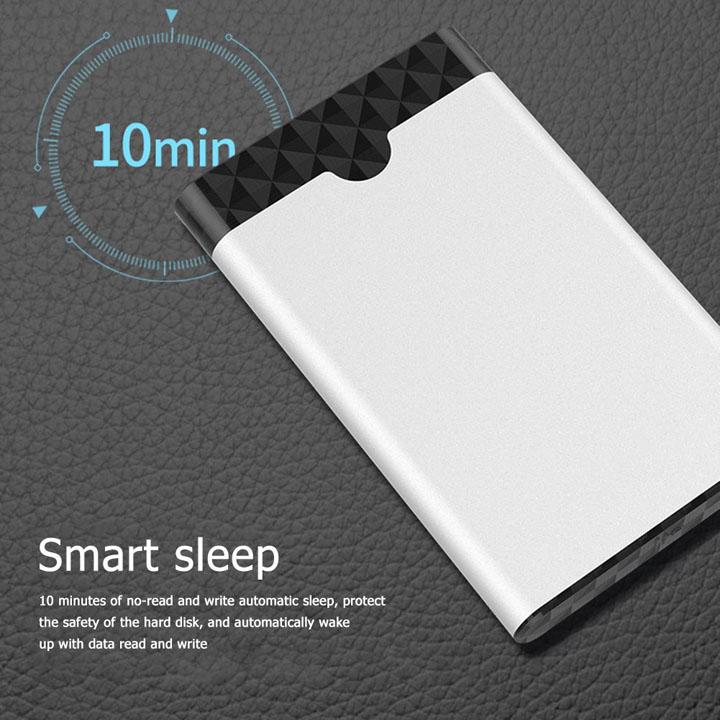 Box ổ cứng S-04 2.5 inch SATA USB3.1 type-C vỏ hợp kim nhôm cao cấp - BX55