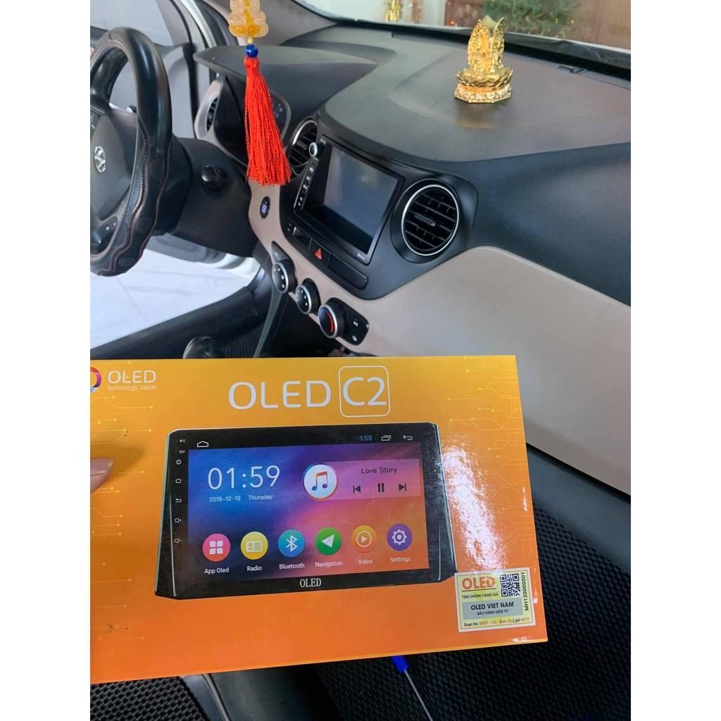 Màn Hình Android Oled C2 (New) Theo Xe HUYNDAI I10 2014-2020