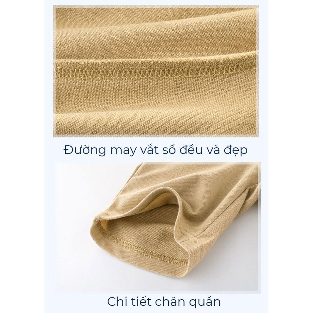 Quần Thun Cho Bé Trai 27Kids Họa Tiết Gấu Chất Cotton Xuất Âu Mỹ Bé 2-10T 011