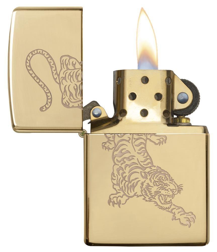 Bật Lửa Zippo Tiger Design 29884