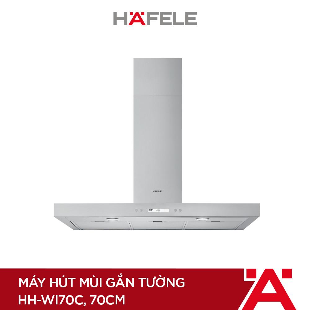 [PROMO] Máy Hút Mùi Gắn Tường HH-WI70C (70cm) + Bếp Từ 2 Vùng Nấu Hafele 770x450mm HC-IS772EA ( Hàng chính hãng )
