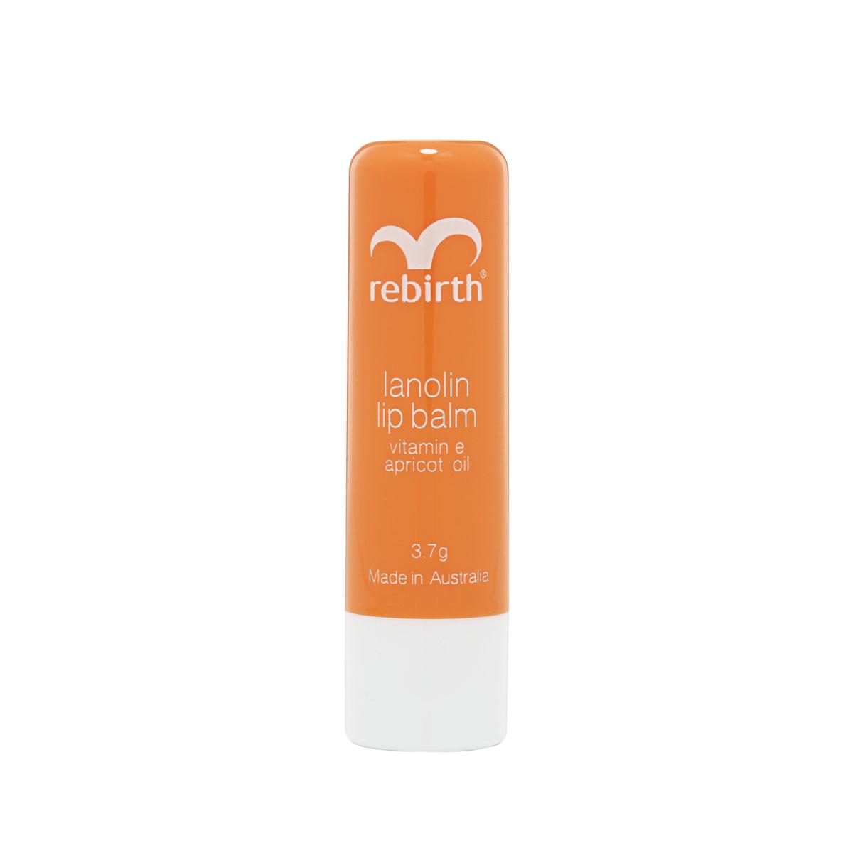 Combo 2 son dưỡng ẩm, ngăn ngừa khô nứt nẻ, trị thâm môi nhau thai cừu Rebirth