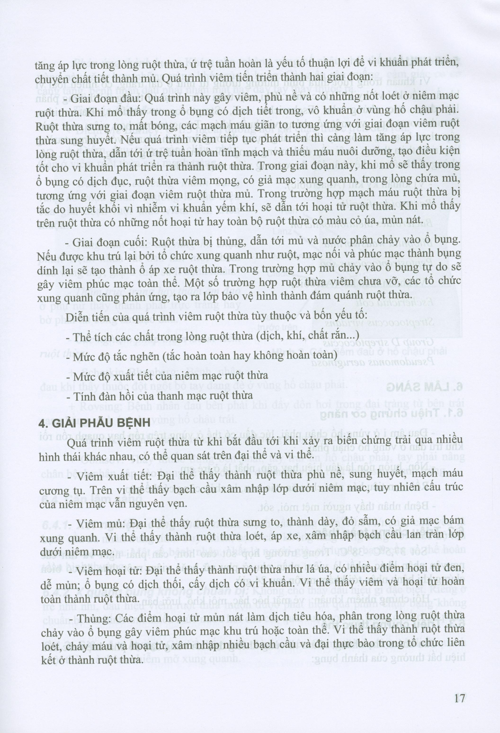 Bài Giảng Bệnh Học Ngoại Khoa (Dùng cho sinh viên năm thứ tư)