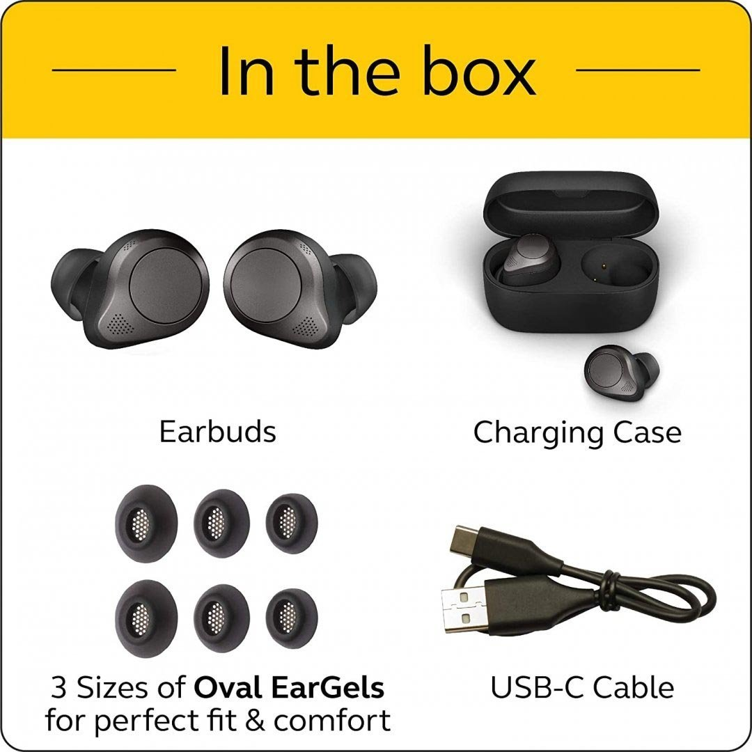 Tai Nghe Bluetooth Lanith TA00JA1 – Kèm Hộp Sạc Kiêm Sạc Dự Phòng – Chống Ồn Tốt - Thời gian sử dụng lên tới 7.5h - Hàng nhập khẩu