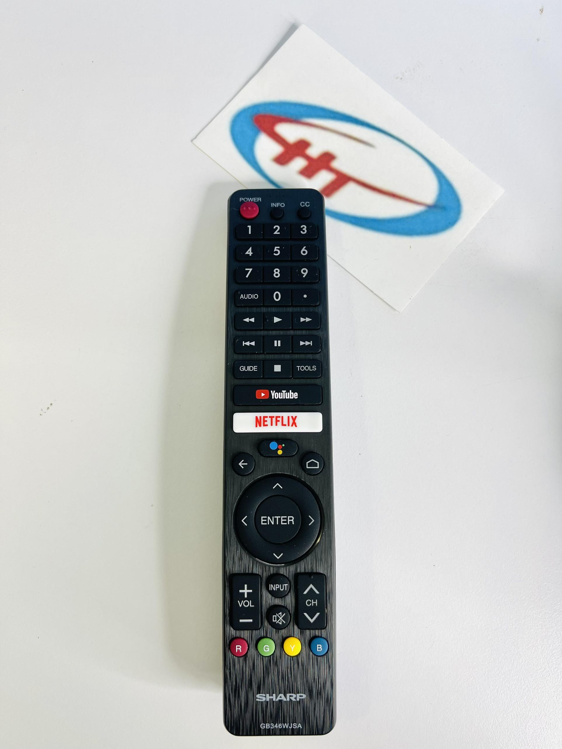 điều khiển tivi sharp giọng nói voice (SP 1832)