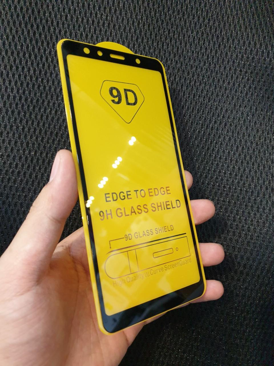 Kính Cường Lực Full Màn Hình Cho Samsung A7 2018