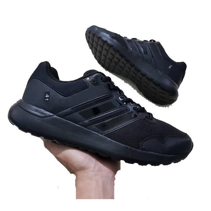 Giày thể thao nữ đen full và trắng full size từ 35 đến 39