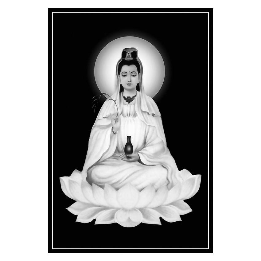 Tranh Phật Giáo Quan Thế Âm Bồ Tát 2312