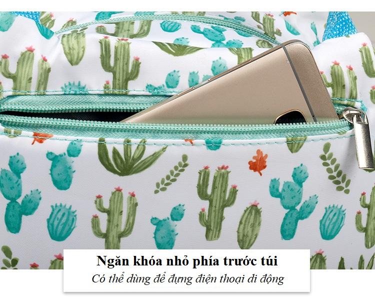 Túi giữ nhiệt đa năng Tặng kèm 3 miếng dán siêu chắc (giao màu ngẫu nhiên)