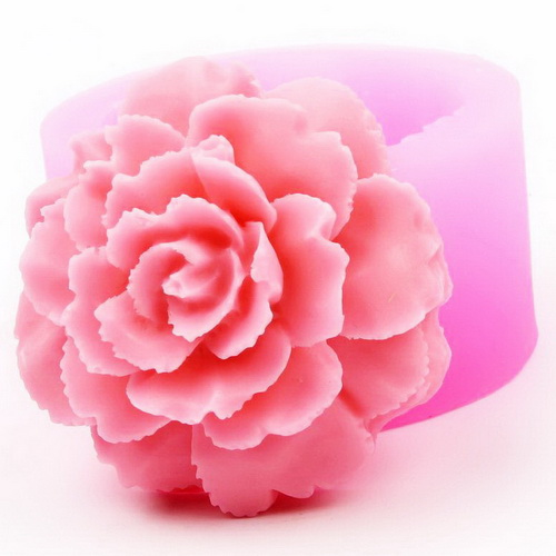 Khuôn rau câu silicon hoa cẩm chướng