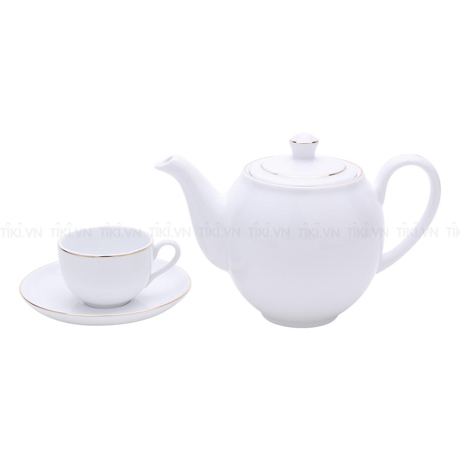 Bộ Trà Camellia Minh Long 01503801403 (0.5L) - Bắt Chỉ Vàng