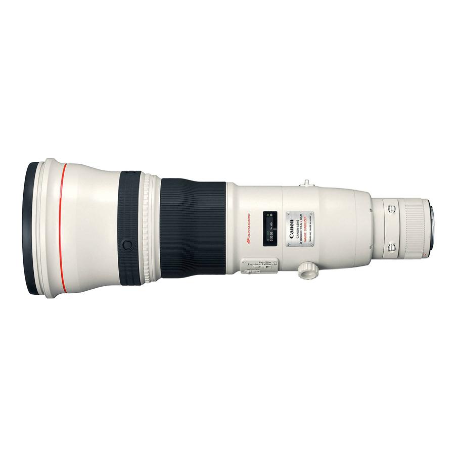 Lens Canon EF 800mm f/5.6L USM - Hàng chính hãng
