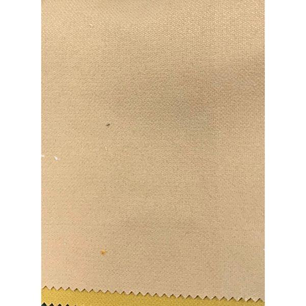 Rèm cửa vải LUCYA18-4 có thanh treo hợp kim nhôm màu gỗ đầu tròn  - cao cố định 2m4