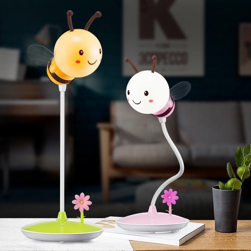 Đèn ngủ để bàn cảm ứng đổi màu hình con ong cực đẹp Venado