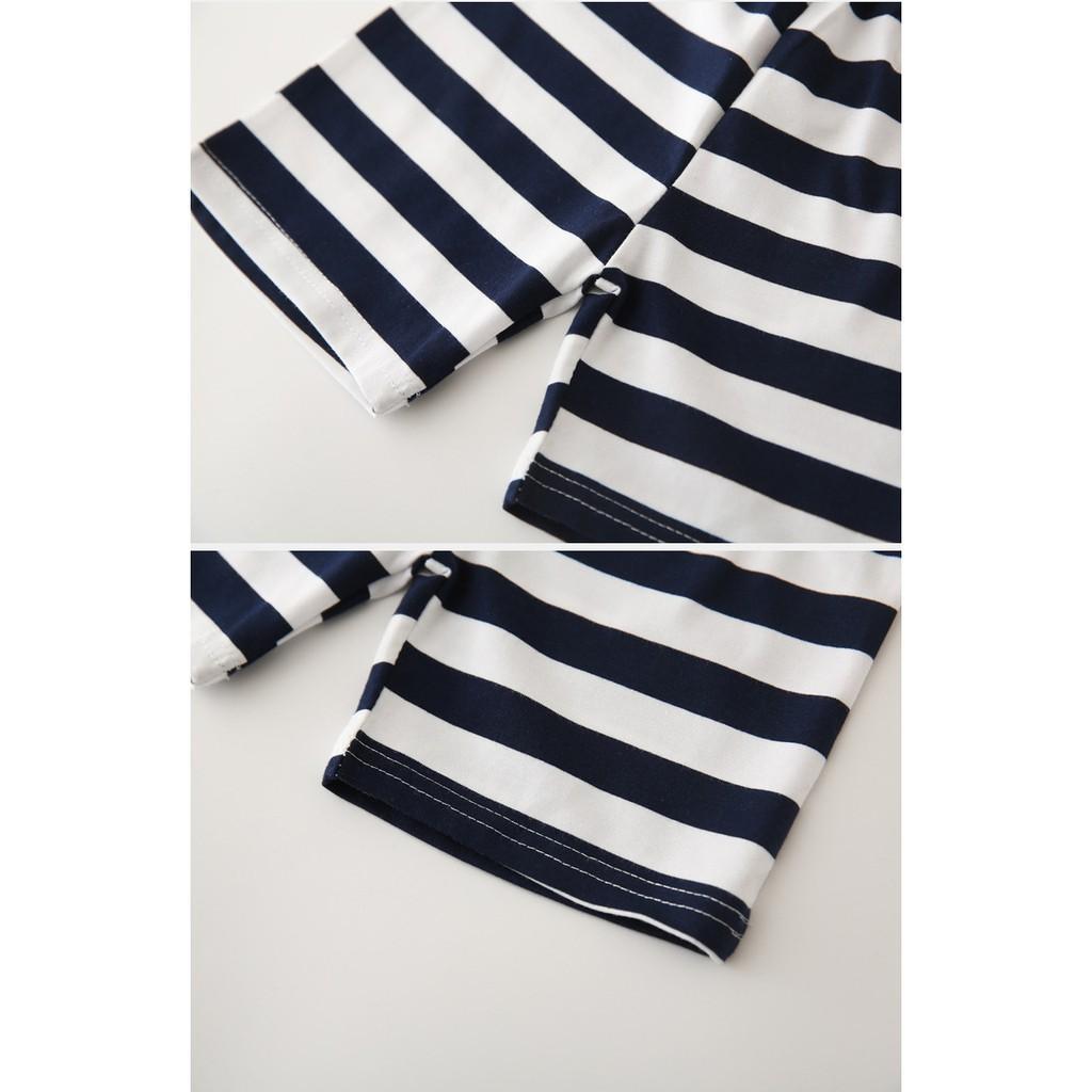 Bộ quần áo trẻ em WAPYPY bộ quần áo thun cho bé chất cotton hàng xuất Âu Mỹ