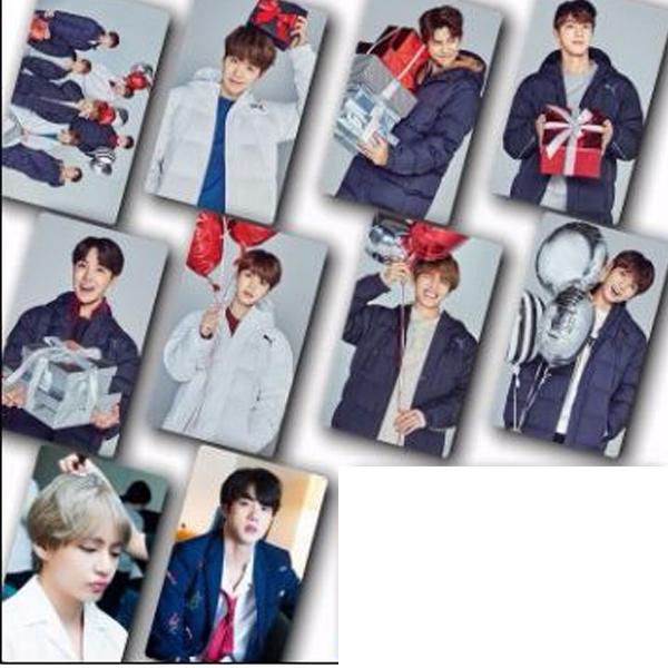 Set 20 ảnh dán 10 tấm BTS 5x8 (3 mẫu) hình ảnh độc nhóm nhạc Hàn quốc
