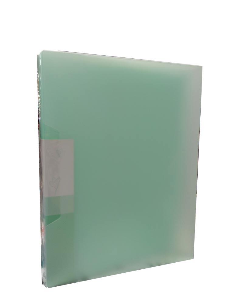 Bìa Lá 100 Tờ Trong - Mẫu 1 - Màu Xanh Mint