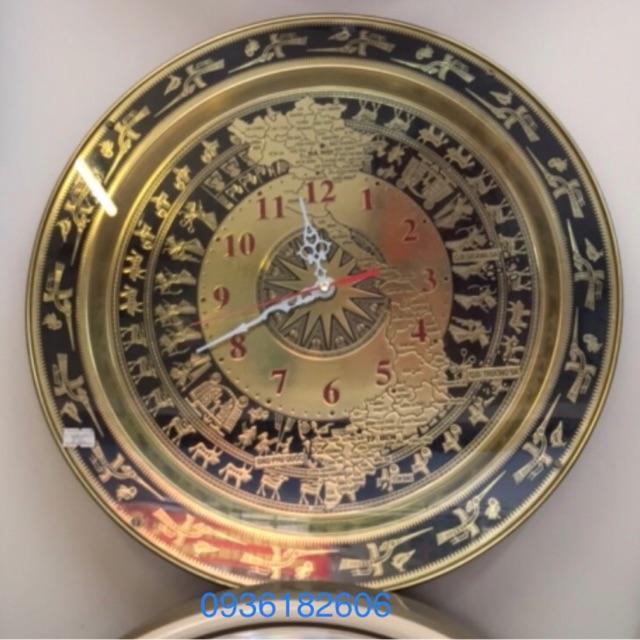 Đồng hồ treo tường Trống Đồng